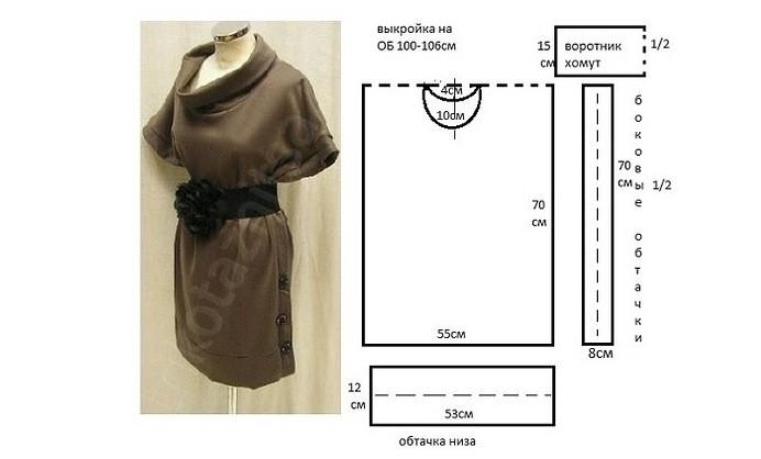 Коллекция платьев на любой случай! 10 простых и эффектных платьев с выкройками...