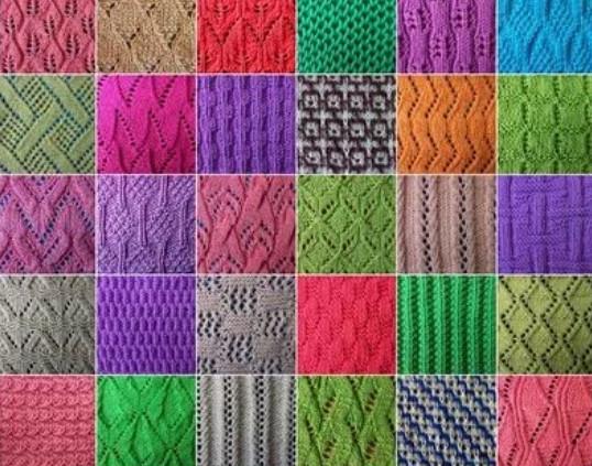 Как читать схемы вязания спицами... Эти обозначения быстро запоминаются даже после первого повязанного узора!