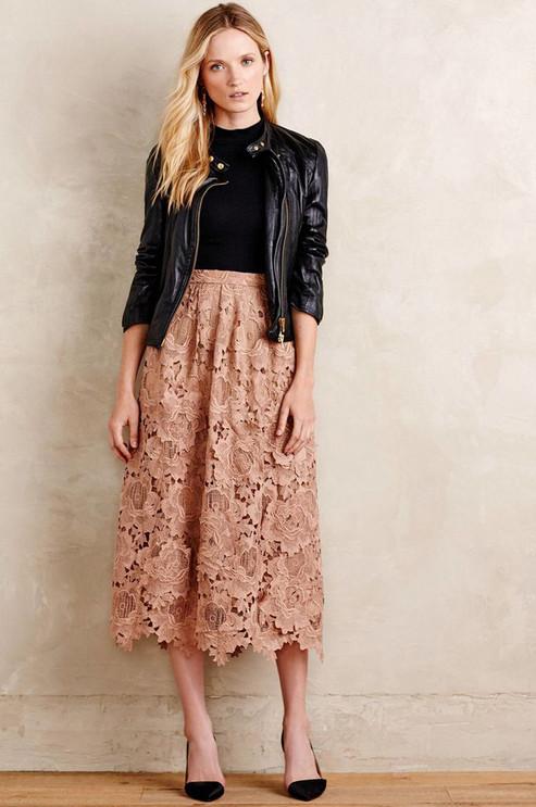 Стильные юбки, без которых не обойтись в этом сезоне... Куплю джинсовую с вышивкой!