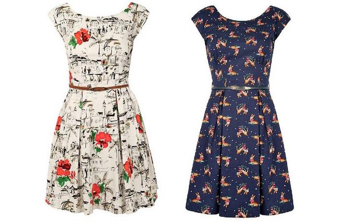 Стильное и простое платье с выкройками на все размеры! Проводим досуг с пользой....