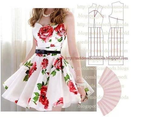 Выкройки летних платьев - на любой вкус... Легкие, красивые, праздничные и повседневные летние платья! (Часть 1)