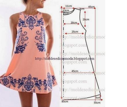 Выкройки летних платьев - на любой вкус... Легкие, красивые, праздничные и повседневные летние платья! (Часть 2)