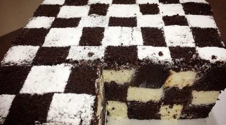 Шахматный чизкейк всего 30 минут... Жизнь без десертов скучна и невыносима!