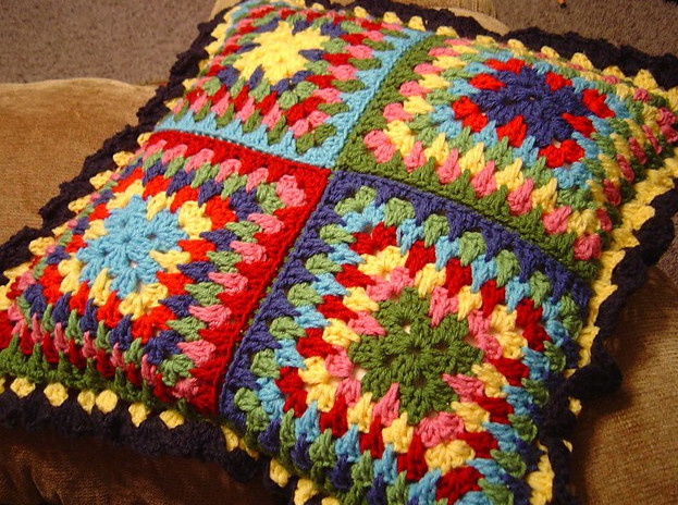 Вязание для подушек крючком... Теперь будет, чем заняться на досуге!