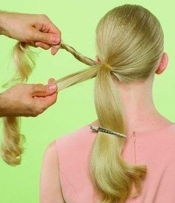 Секретная техника шикарной прически от малоизвестного парикмахера... Ты точно будешь королевой!