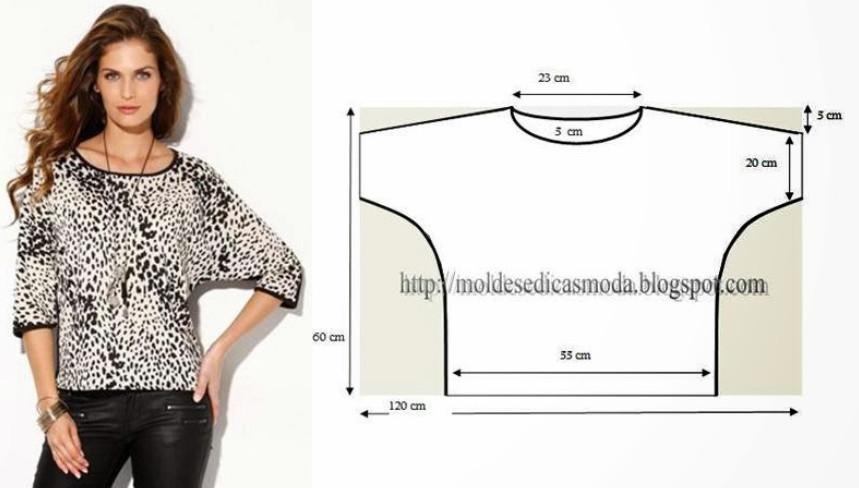 Блузка для полных сшить