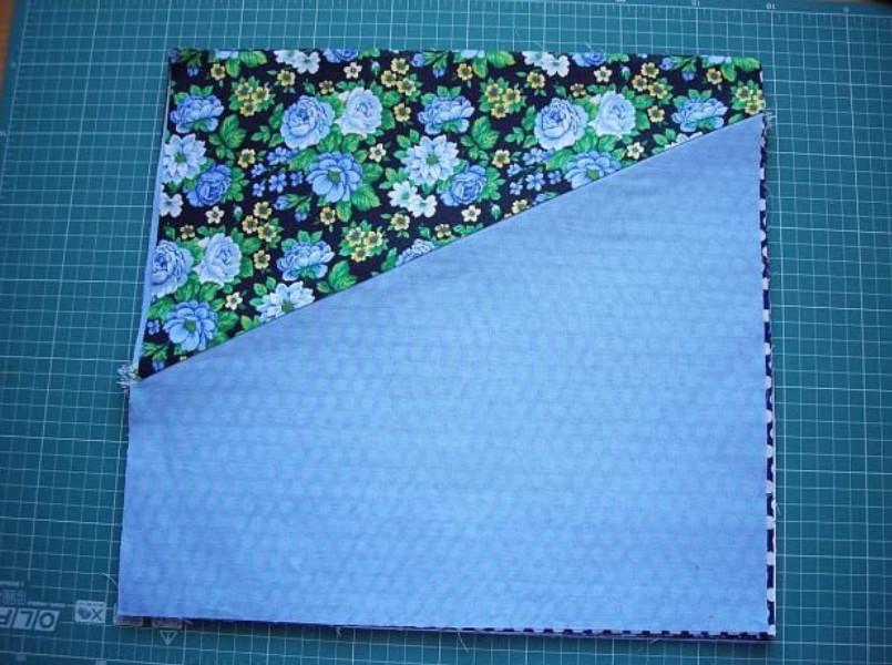 Мастер класс, по которому я быстро сшила лоскутное одеяло... Главное найти нужную ткань!