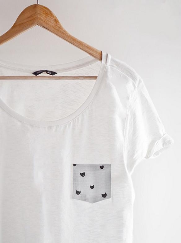 17 крутых способов переделать устаревшую футболку!  Сегодня же приступлю к переделке!