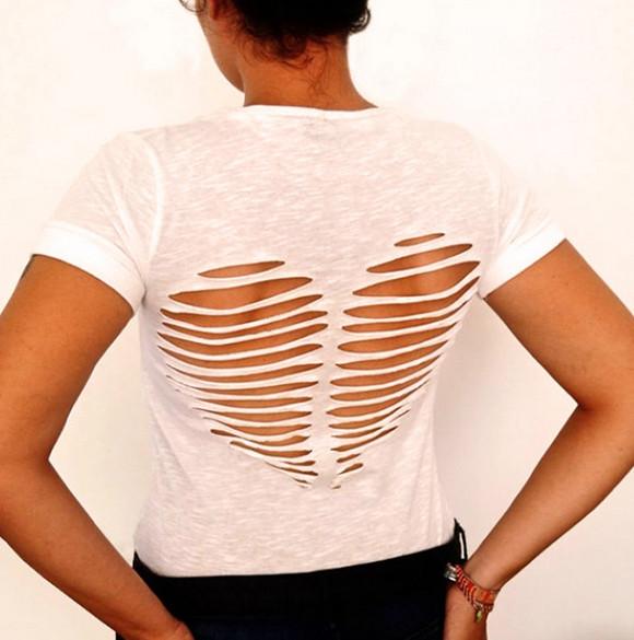 17 ярких способов переделать устаревшую футболку! Сегодня же приступлю к переделке!