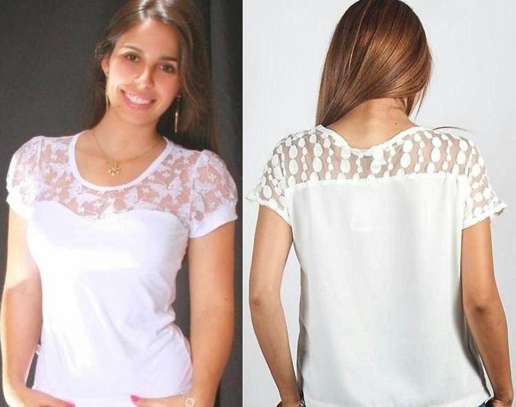 Как Из Обычной Блузки Сделать Модную