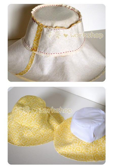 Три оригинальные выкройки летних шляпок! Отличный вариант для отдыха...