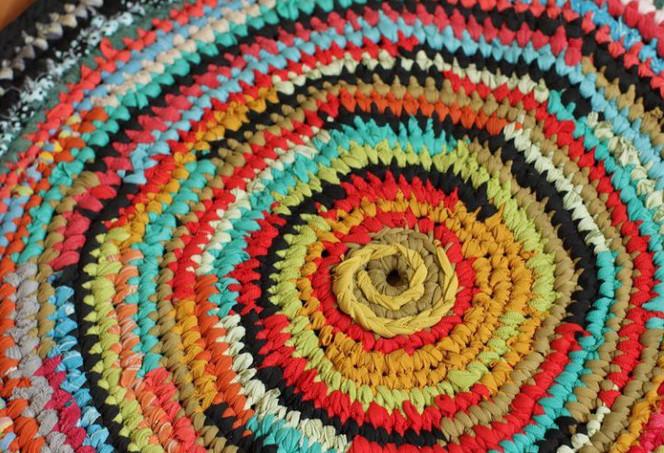 Вязаные коврики крючком своими руками: интересные модели, схемы и мастер класс