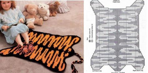 Вязаные коврики крючком: интересные модели, схемы и описание... Самая огромная подборка и лучшие советы! (Часть 3)