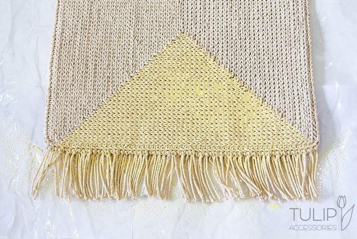 Вяжем уютный коврик... Как же красиво, а главное - просто!