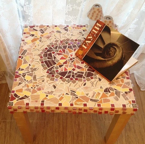 Как использовать остатки кафельной плитки для дома... 20+20 блестящих решений! (Часть 1)