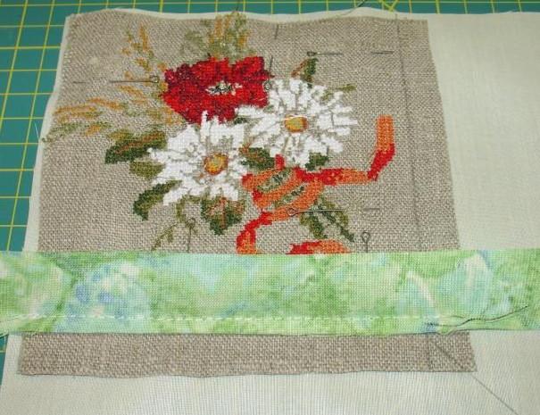 Шьем подушку из простых обрезков... Такая красота из каких-то кусочков ткани!