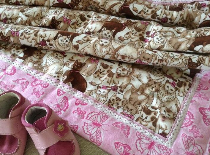 Шьем двустороннее байковое одеялко за 20 минут... Самый подробный мастер класс!
