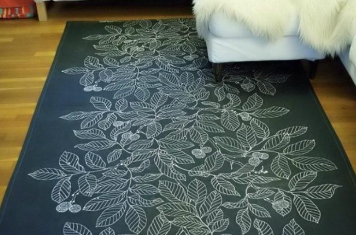Невероятно красивые коврики ручной работы... Всё, что тебе понадобится, — это красивые идеи и пара футболок!