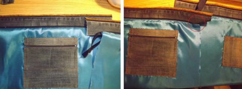 Превращаем джинсы в элегантную сумку... Джинсы я теперь больше никогда не выкидываю!