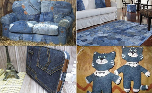 100 способов продлить жизнь любимым джинсам... Все эти идеи проверены многими!