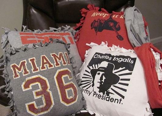 9 идей для переделок из старых футболок... И все это из простых вещей!