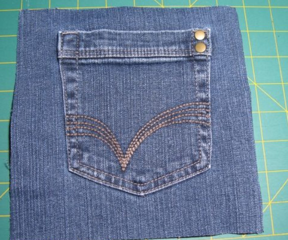 Подушка из джинсов в стиле крейзи... Быстрый способ сделать что-то красивое и полезное!