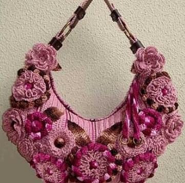 Вязаные сумки своими руками: 30 красивых идей... Красиво и стильно!