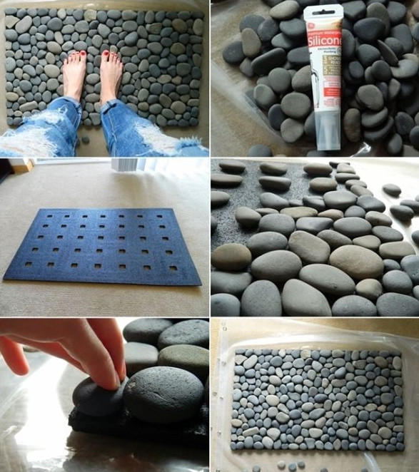 Как использовать речной камень: замечательные поделки... Супер-идеи!