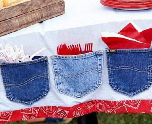 Огромная подборка: новая жизнь старых джинсов... Без ума от идеи №18