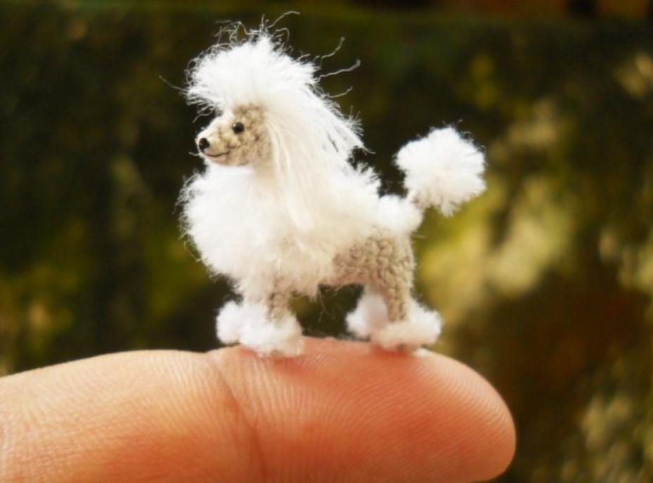 Очень маленькие вязаные игрушки... Какие симпатичные!