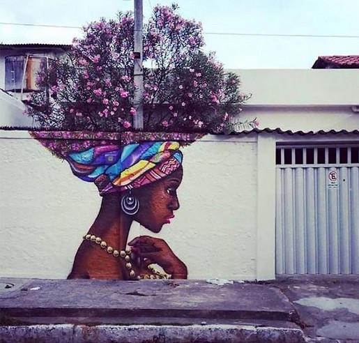 Уличное искусство удивительной красоты! Оно способно встряхнуть часто скучные городские улицы...
