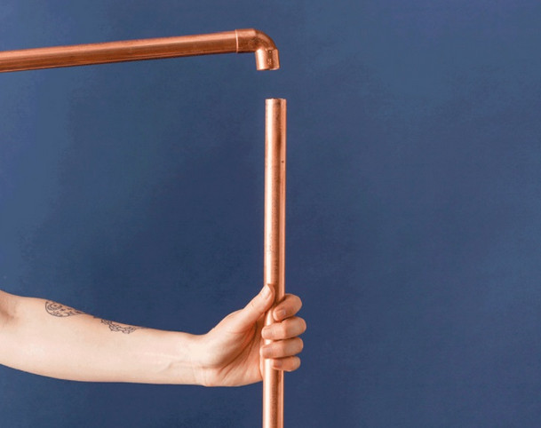 Экономное мастерство: как сделать дизайнерскую вешалку не дорого... В 3 раза дешевле, чем в магазине!
