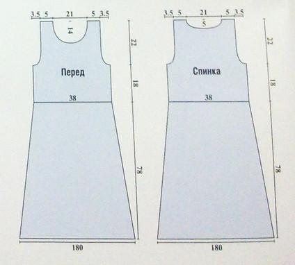Ажурное летнее платье крючком (схема и пошаговое описание)... Еще одна авторская вещь!