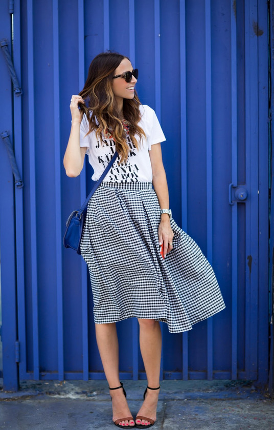 На каждый день: юбка с бантовыми складками... Без выкройки, проще простого!