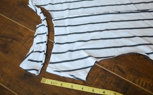 Потрясающая переделка старой футболки в новую... Лучший способ!