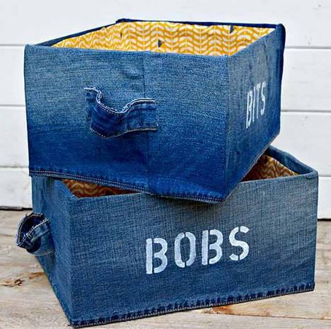 Что сделать из старых джинсов? Решение как всегда есть... Супер-большая подборка!