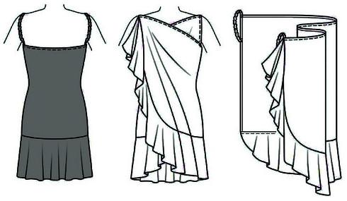 Шьем пляжное платье за 5 минут... Быстро, дешево и без выкройки!