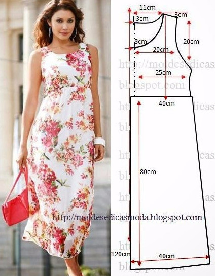 Летние платья и сарафаны с простыми выкройками... 50 платьев - 50 выкроек!