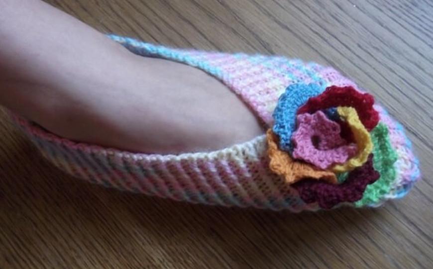 Как связать очень красивые носки-следки спицами: схемы и видео