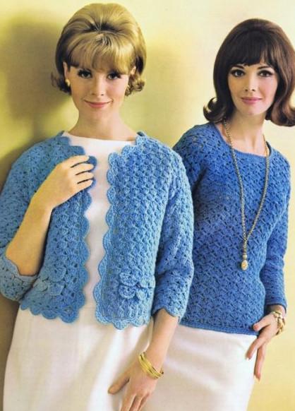 Давайте вспомним ретро вязание. Небольшая подборка винтажных моделей!