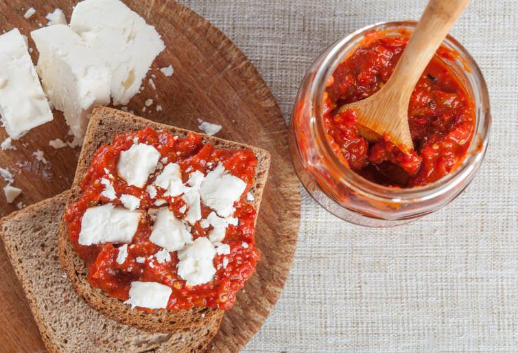 Как сохранить болгарский перец на зиму без варки... Впервые о таком способе слышу!