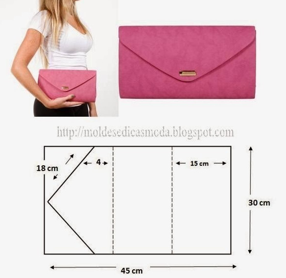 Как сделать выкройку сумки из ткани своими руками 53
