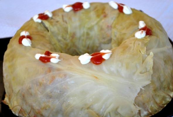 Ленивый голубец из молодой капусты: летнее блюдо, достойное барского стола!