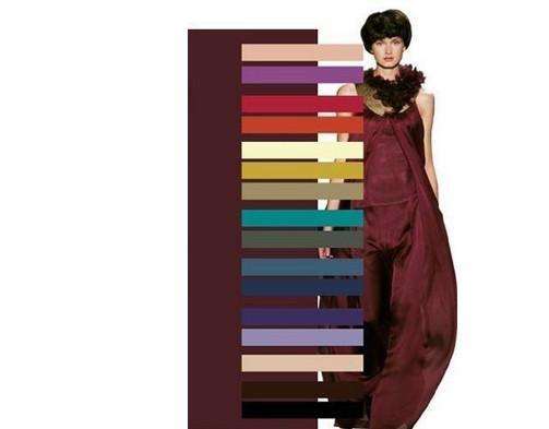 Как сочетать цвета в одежде... Отличная шпаргалка для всех!