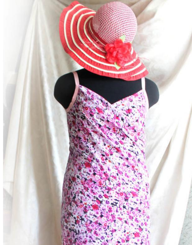 Полчаса, и шикарное пляжное платье готово...