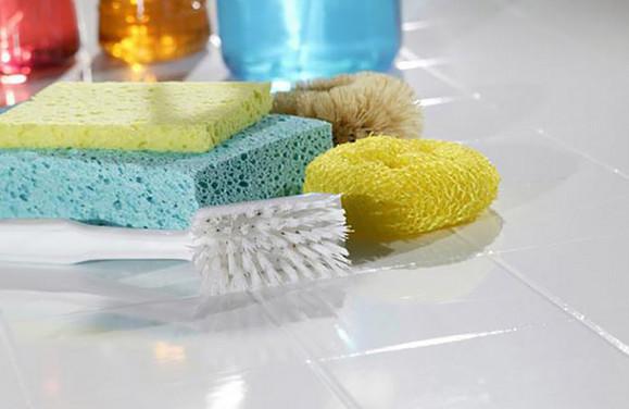 Удаляет любые загрязнения на плитке без следа... Простой рецепт с потрясающим результатом!