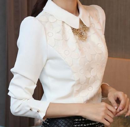 Тренд, который нельзя пропустить. Очаровательные, но строгие белые блузы — 15 моделей!