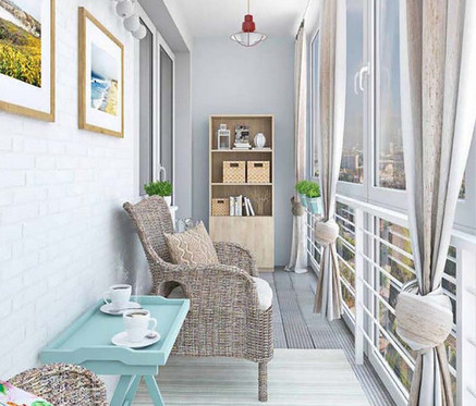 Маленький балкон: 20 крутых идей... Особенно актуально для жителей города в летний период!