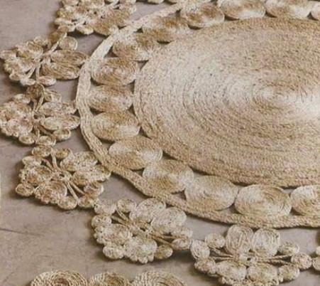 Делаем стильный коврик за 1 час! Мастер-класс и идеи ковров из веревки...