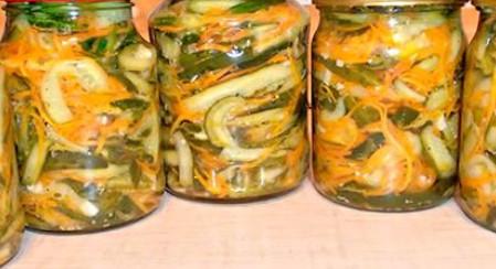 Салат «Огурцы по-корейски с морковью»... Подробный рецепт пикантной овощной закуски, которую не стыдно поставить на праздничный стол!